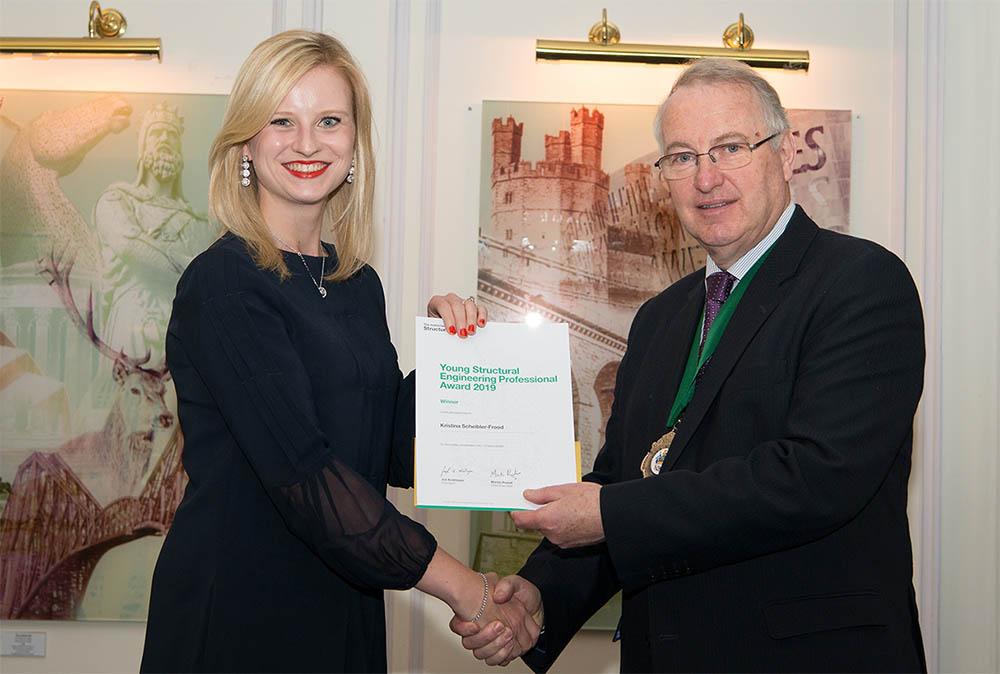 Award presentation Tavistock