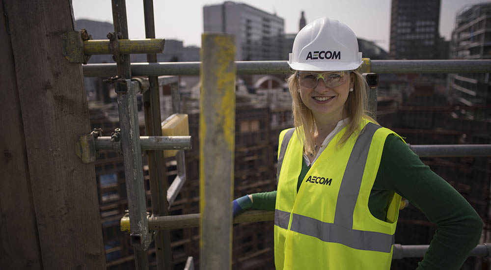 AECOM day in the life engineer
