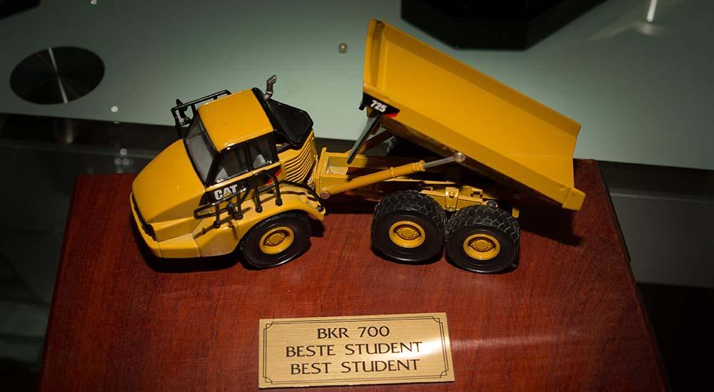 AECOM careers trophy