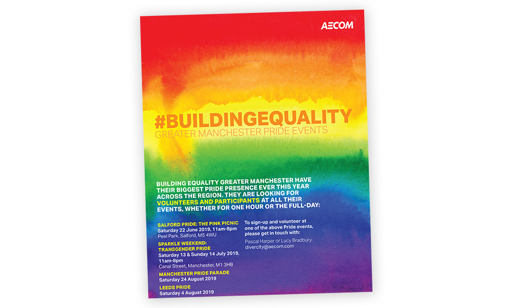 AECOM DiverCity initiatives
