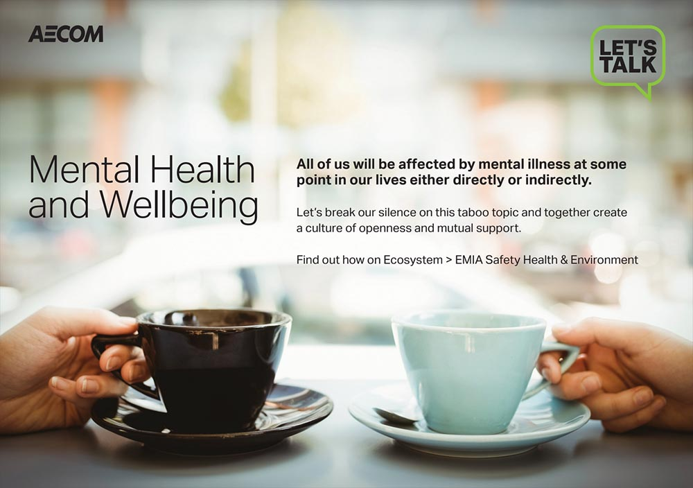 AECOM mental health support