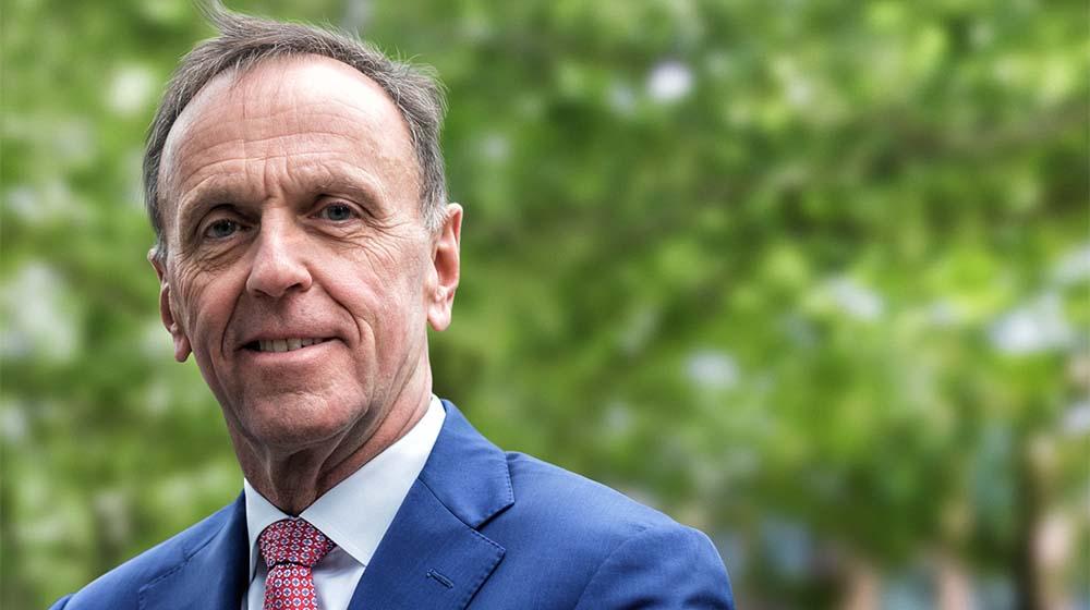 Arcadis CEO Peter Oosterveer