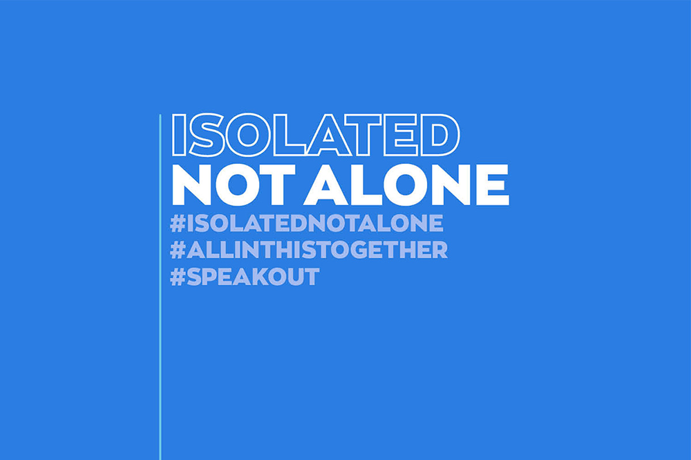 AVON isolated-not-alone pledge campaign