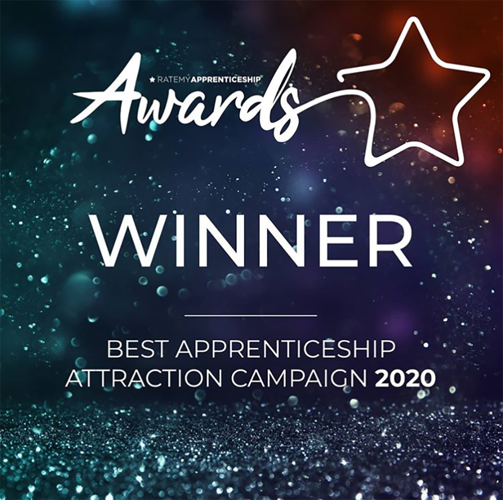 Capgemini apprentices award