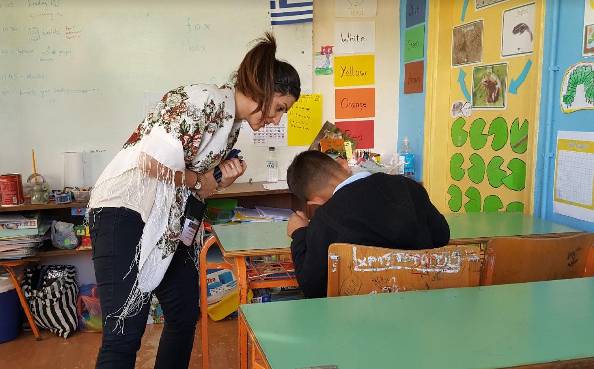 Capgemini Anahita teaching young person