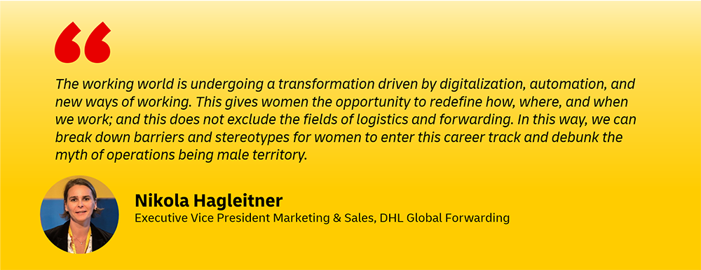 DHL executive women - managers