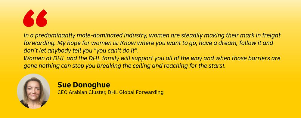 DHL executive women careers