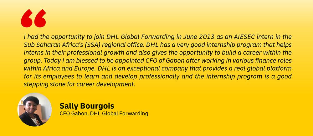 DHL intern jobs
