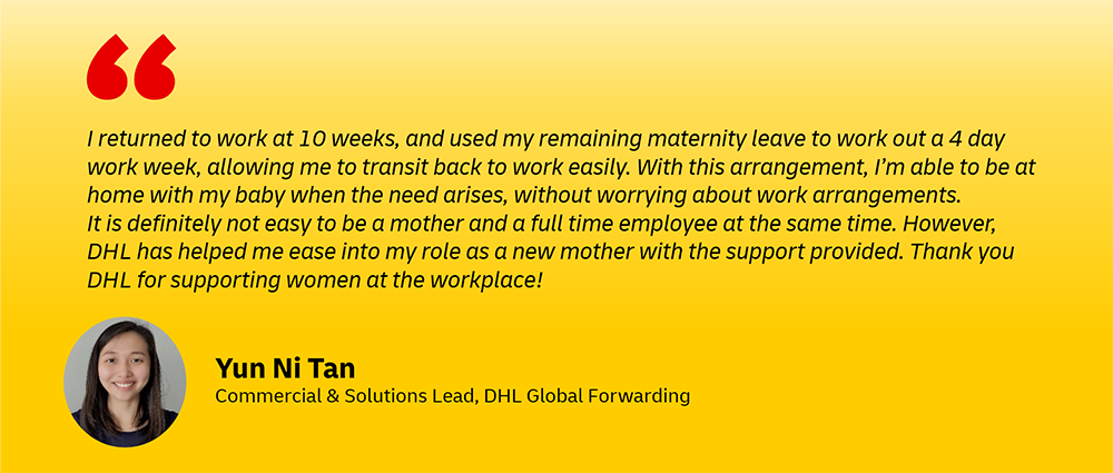 DHL women career returners