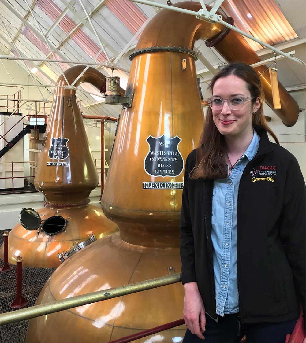 Katherine Montgomery Diageo distilling