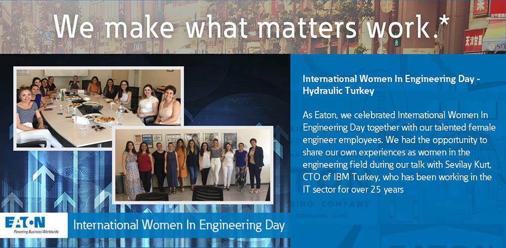 Eaton Turkey INWED event