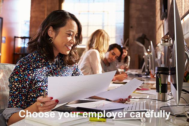 Women's career vacancies