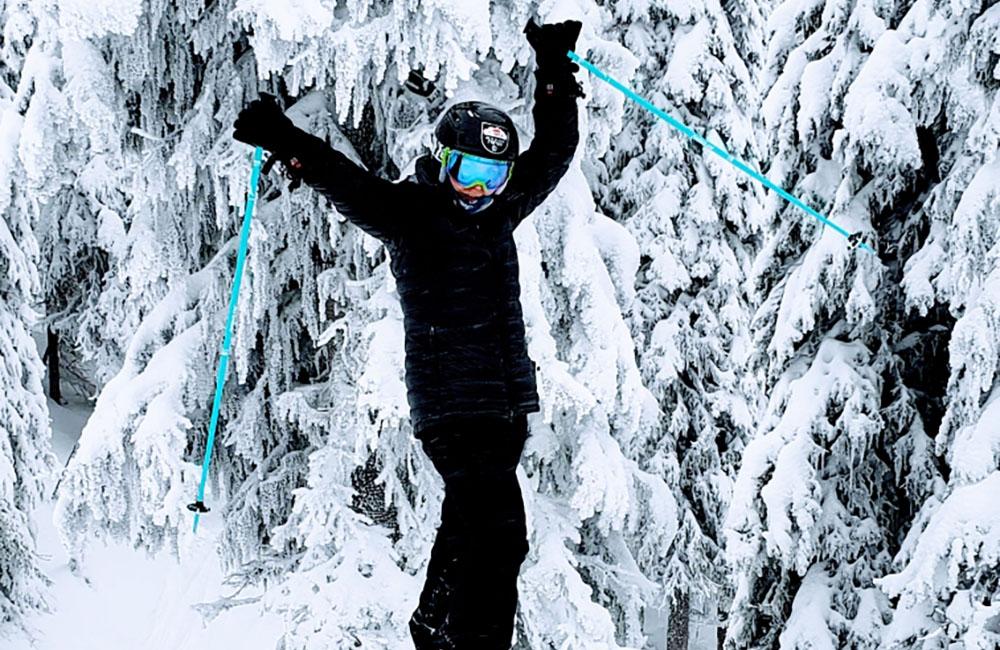Lisa Citron F5 tech skiing