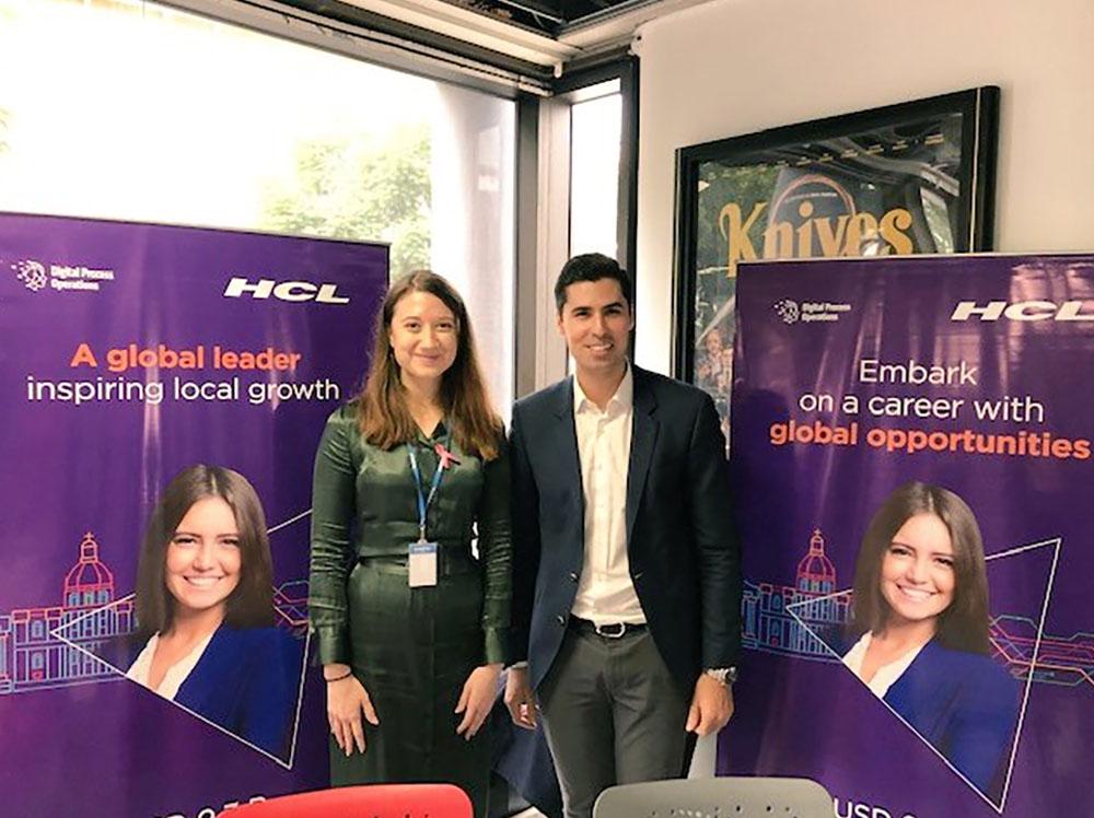 HCL job fair