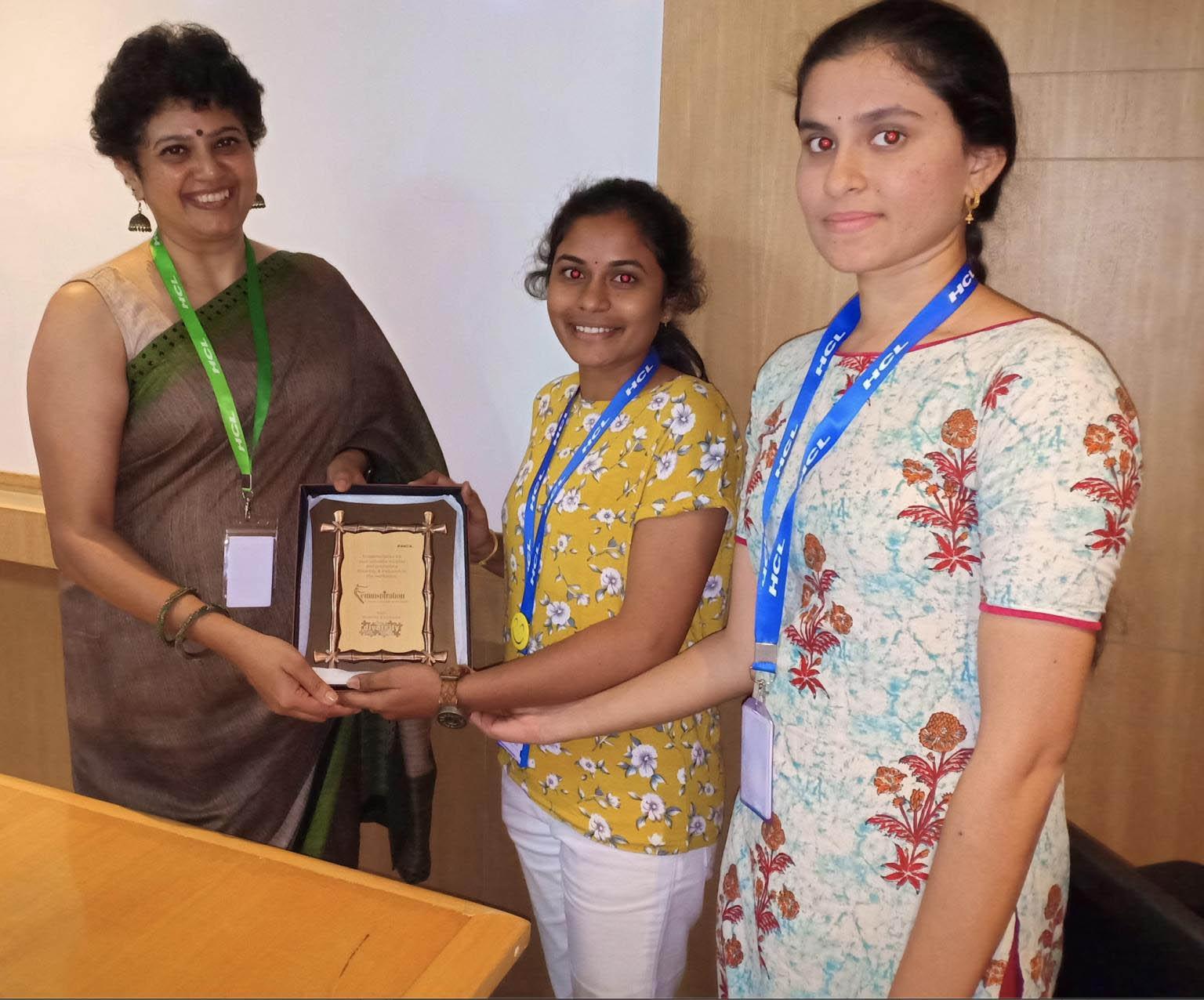 HCL women's development