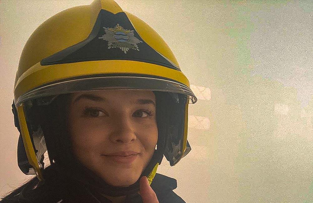 NTU fire volunteer
