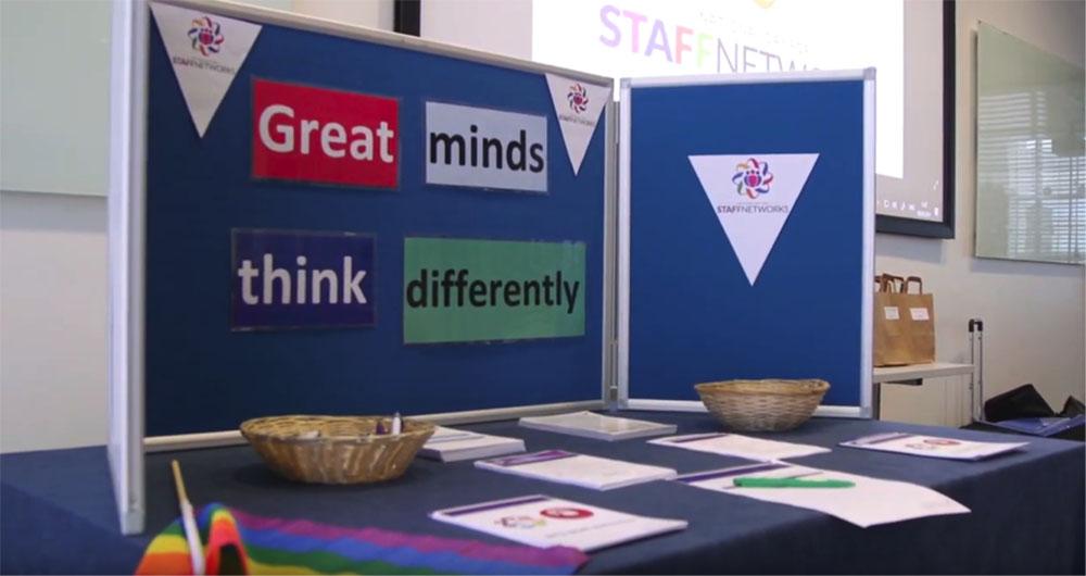 NTU staff networks disability