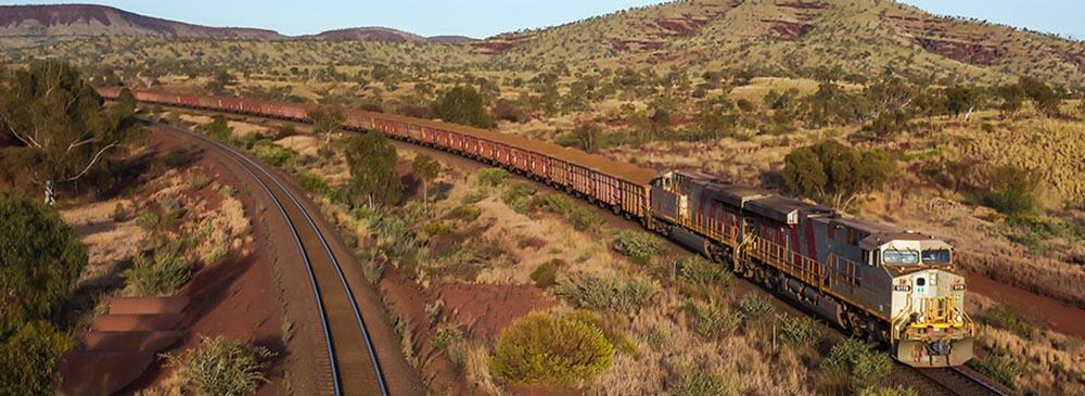 Rio Tinto railway train