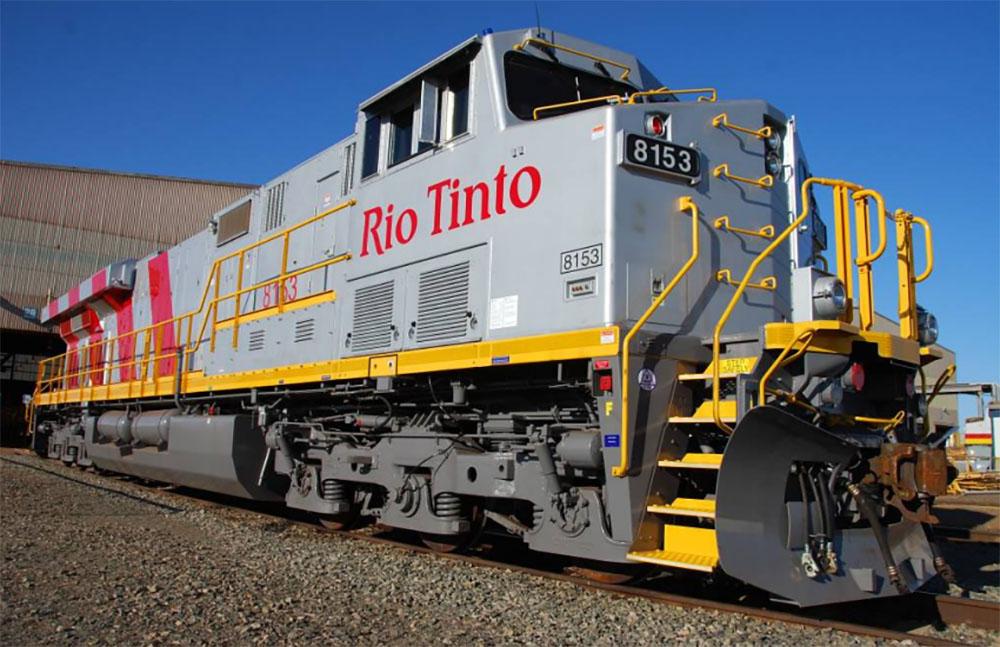 Rio Tinto train