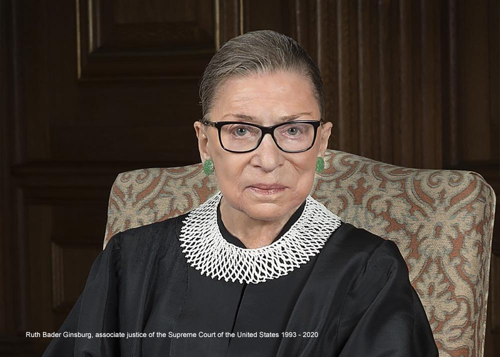 Ruth Bader Ginsburg - picture image