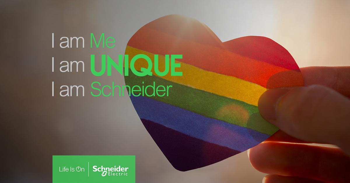Schneider Electric PRIDE diversity