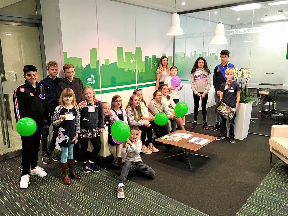 Schneider Electric girls STEM schools