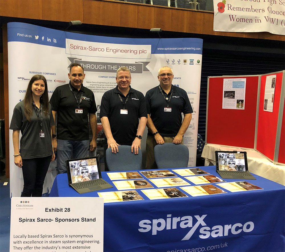Gemma Taylor Spirax Sarco with colleagues