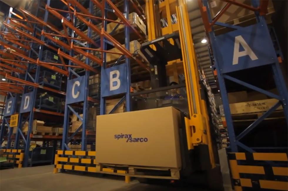 Spirax Sarco Engineering warehouse