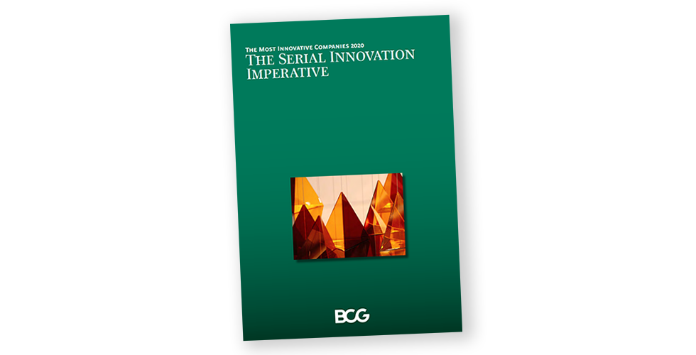 Amazon featured as a Most Innovative Company by BCG