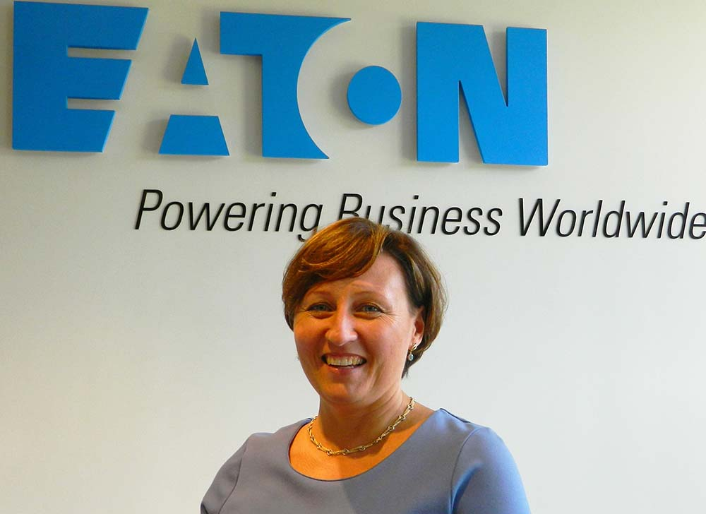 What does Anna do as an Eaton Category Manager in Poland?