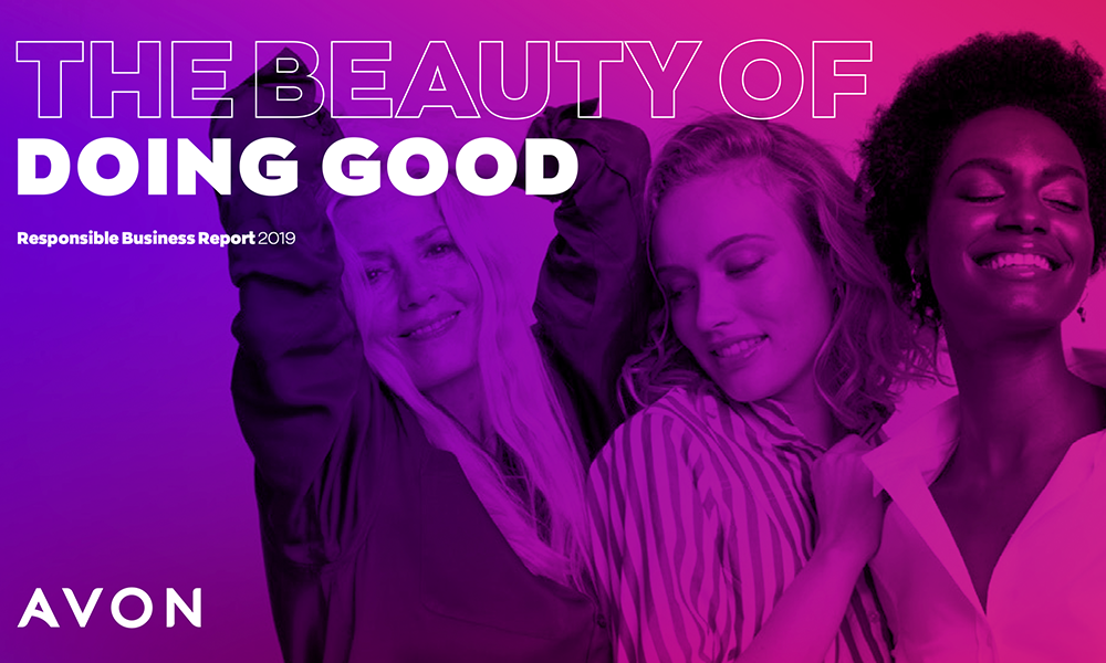 Avons latest business report highlights beauty of doing good