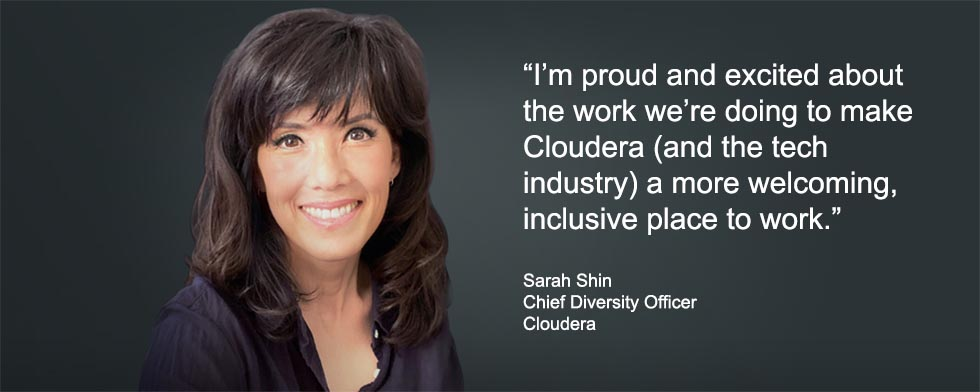 Clouderas Chief Diversity Officer Sarah Shin forges inclusion