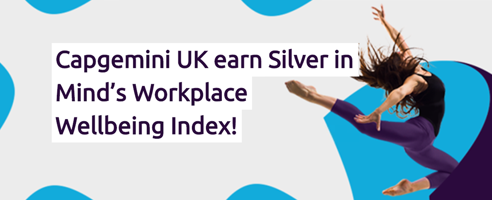 Capgemini UK celebrated in Workplace Wellbeing Index