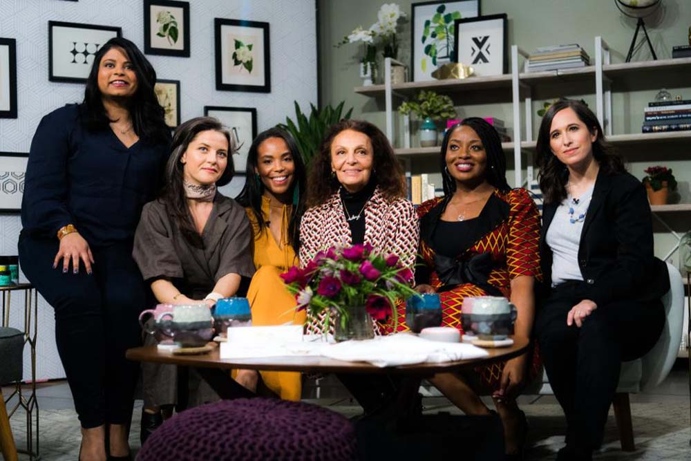 Amazon & Diane von Furstenberg celebrate work of women