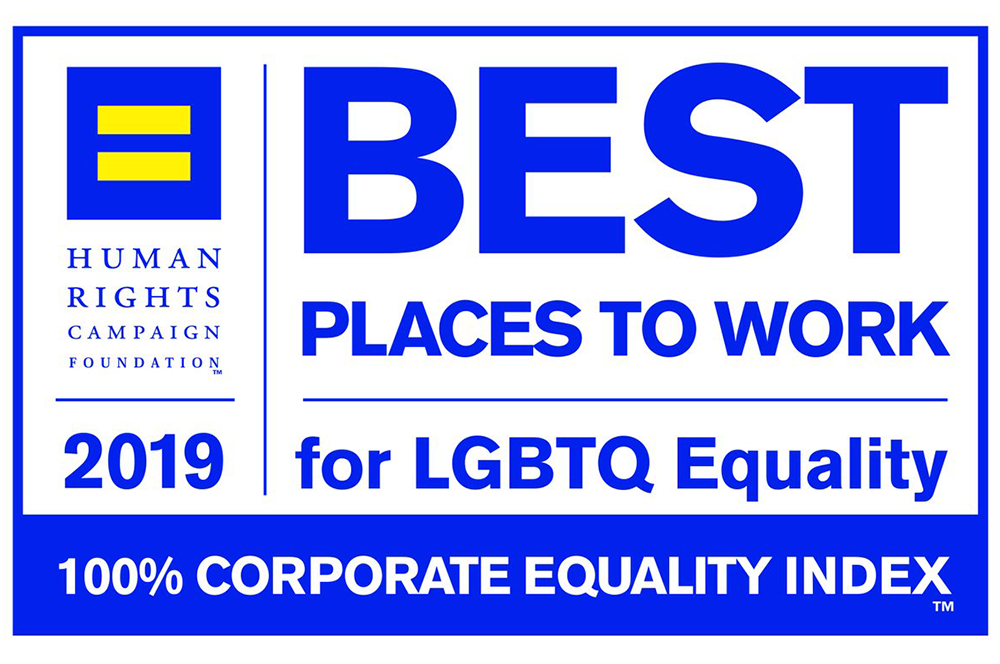 Eaton is one of the Best Places to Work for LGBTQ Equality