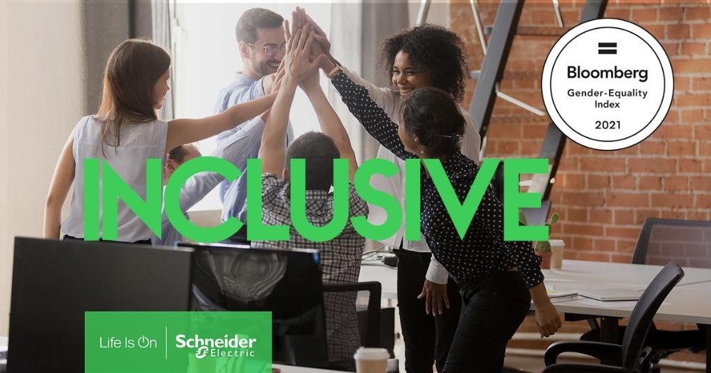 Schneider Electric is recognized for gender equality commitment
