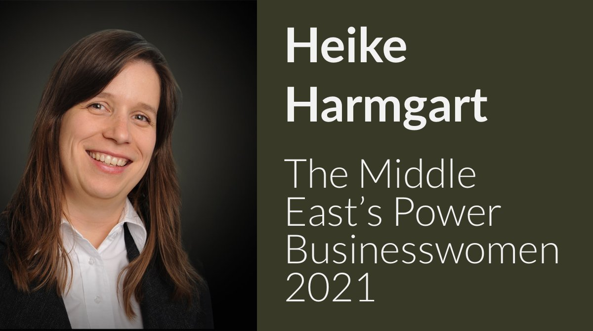 EBRDs Heike Harmgart named a powerful women in business