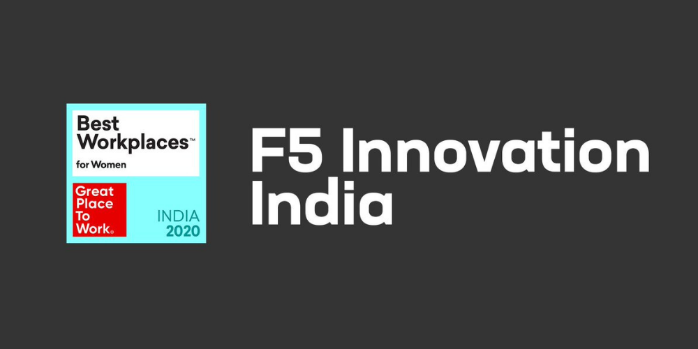 F5 is celebrated as Top 50 Best Workplaces for Women in India