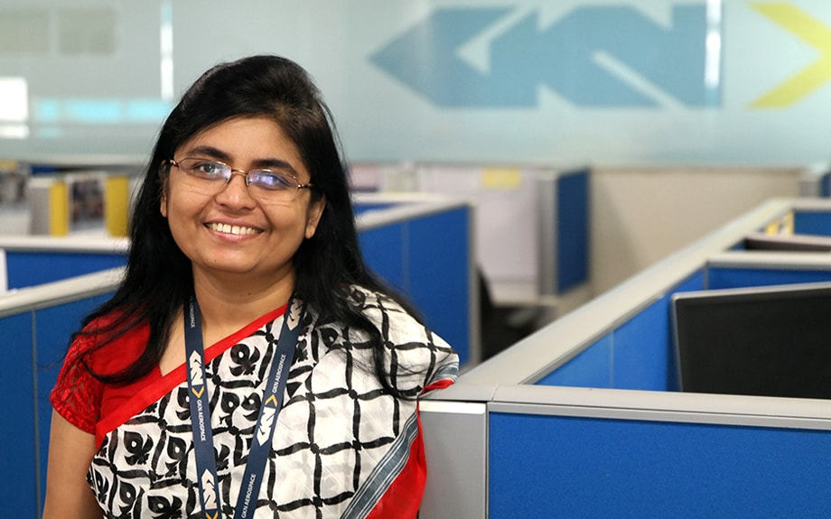 GKN Systems Engineer Asha Koshy inspired by father