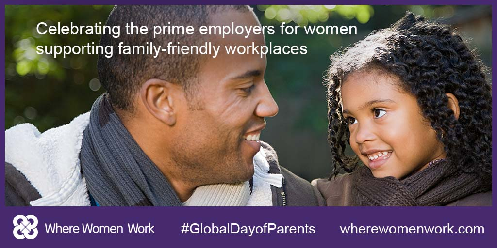 Global day of parents: Celebrating employers of working families