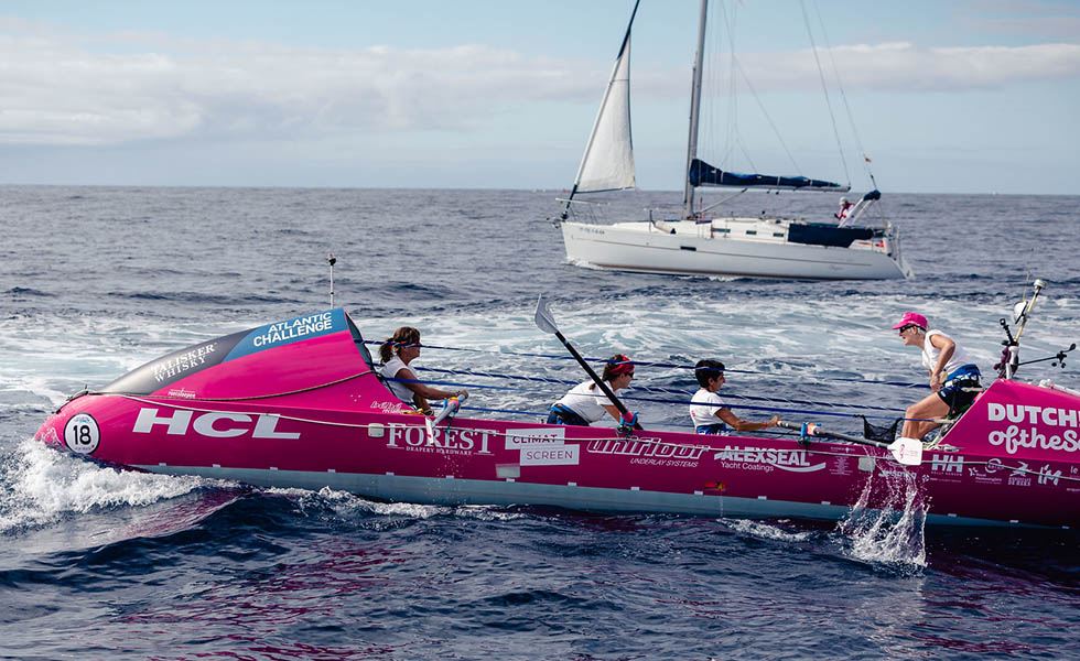 HCL supports all-female Dutchess of the Sea team row the ocean