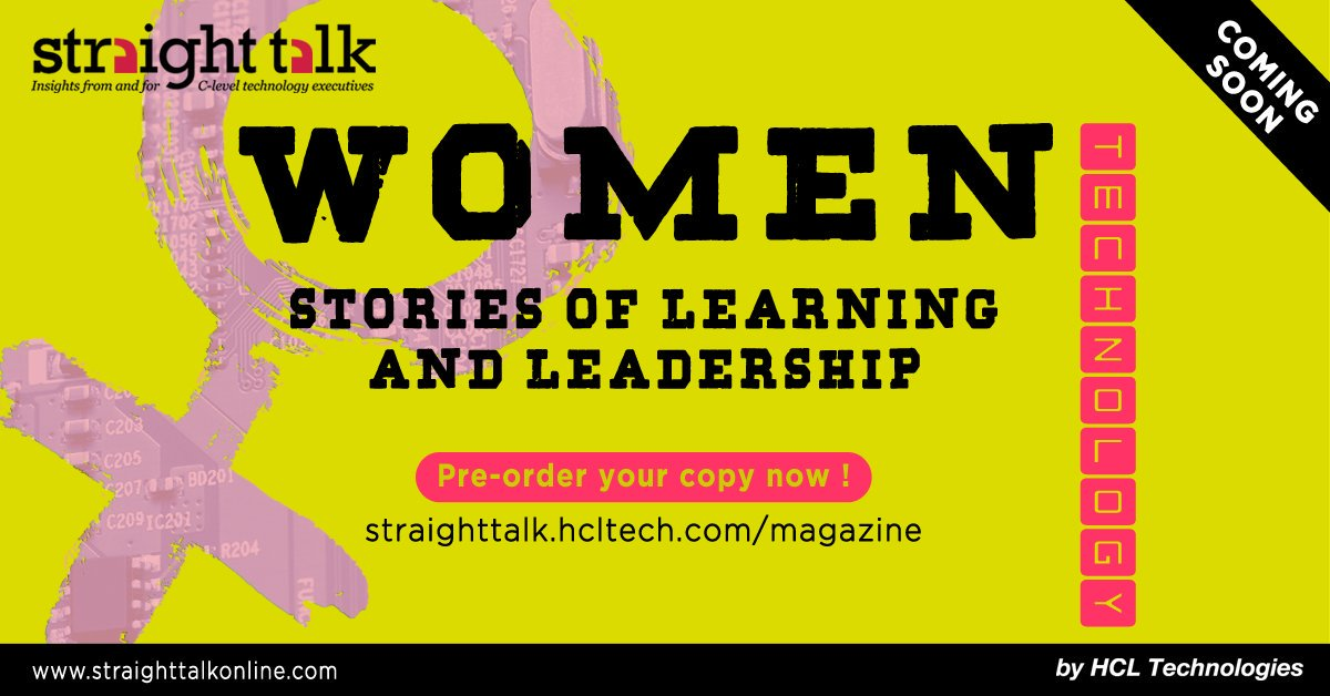 HCL helps profile top female execs via Straight Talk magazine