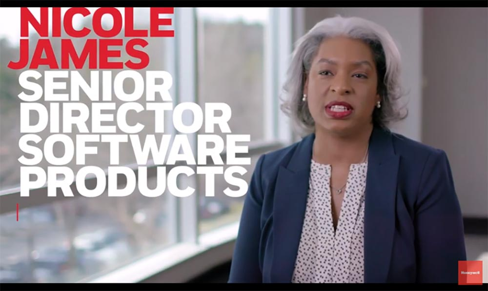 Honeywell #futureshaper Nicole James creates intelligent software