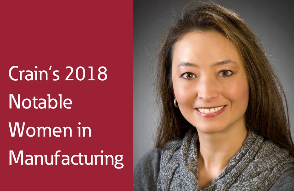 Eaton woman honoured as 2018 woman in manufacturing