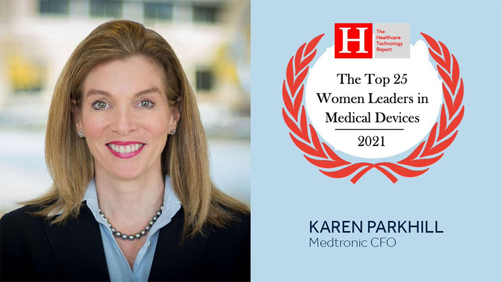 Medtronic CFO Karen Parkhill is a Top 25 leader in medical devices
