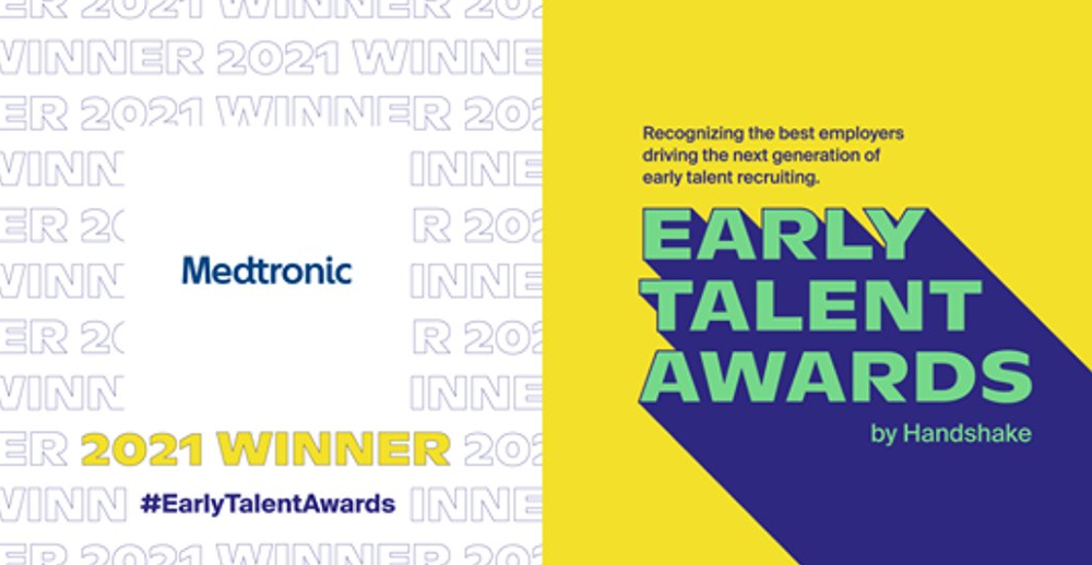 Medtronic celebrated for its focus on recruiting early talent