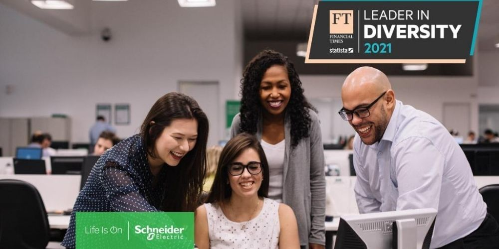 Financial Times names Schneider Electric a Diversity Leader