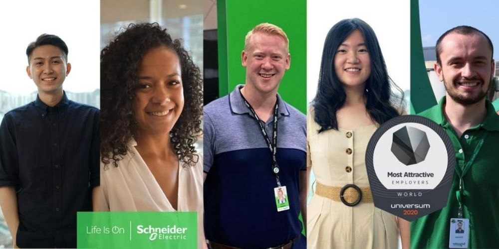 Schneider Electric is a Top 50 World's Most Attractive Employer