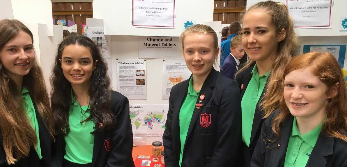 Girl team wins Schneider Electrics Eurotherm science event