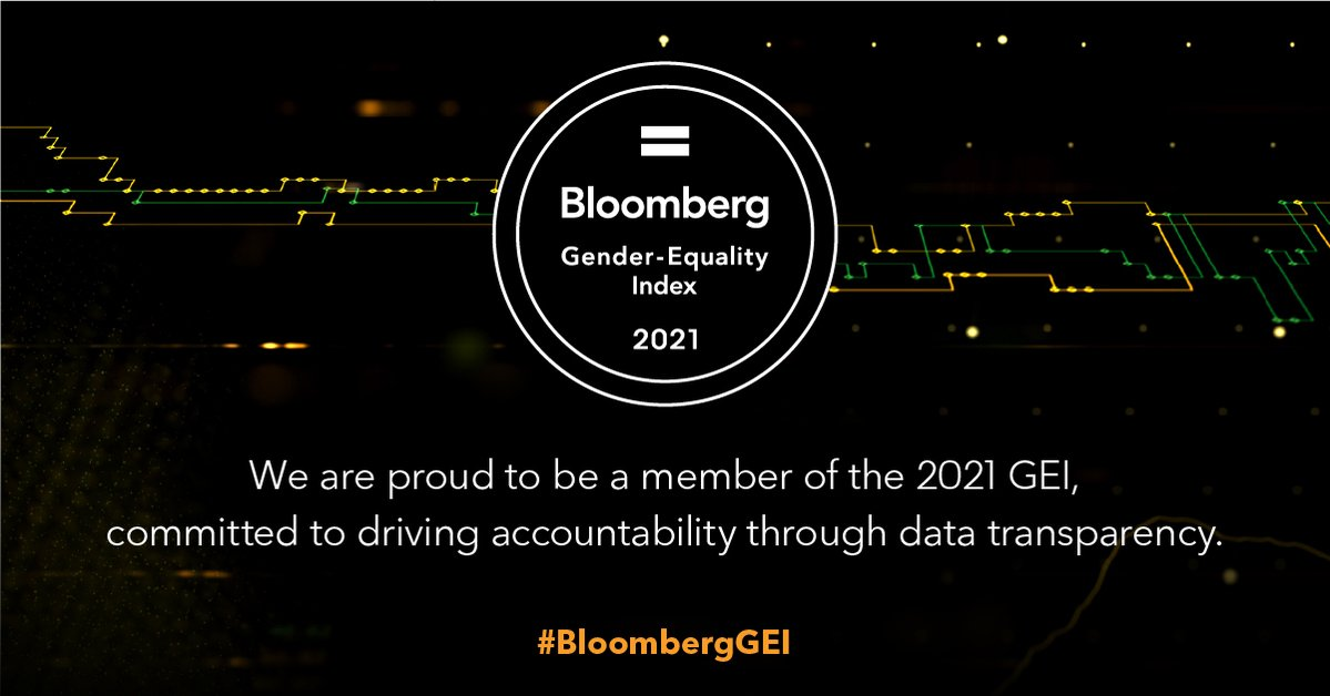 Diageo is celebrated in the Bloomberg Gender-Equality Index